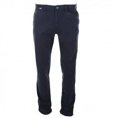Pantalon chino bleu marine : grande longueur de jambe 38US
