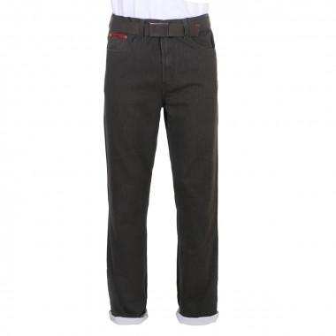 Jean gris rayé : grande longueur de jambe 38US