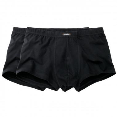 Pack de 2 boxers noirs : grande taille du 2XL au 8XL