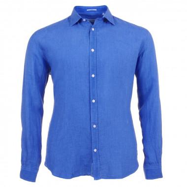 Chemise bleue nautique grande taille: jusqu'au 6XL