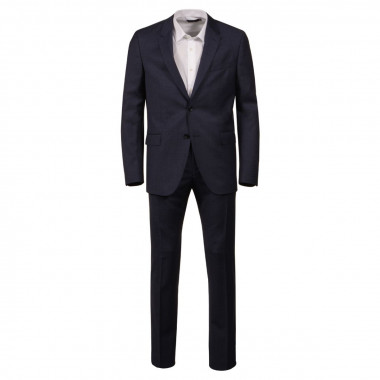 Costume Norman Will bleu pour Homme Grand : du 54 au 60