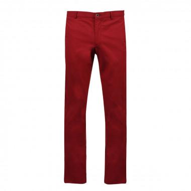 Pantalon chino brique: grande longueur de jambe 38US