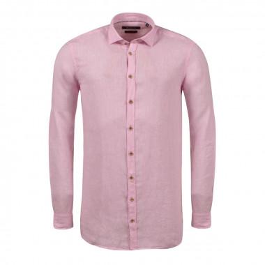 Chemise rose: grande taille du 44 (XL) au 54 (4XL)