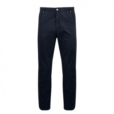 Pantalon bleu marine: grande longueur de jambe 38US