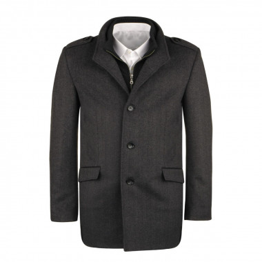 Manteau anthracite pour Homme Grand : du XL au 3XL