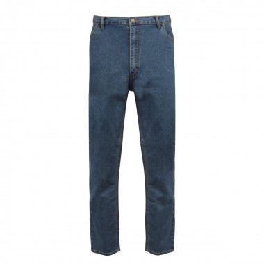 Jean Stretch bleu coupe confort : grande taille jusqu'au 76FR (60US)