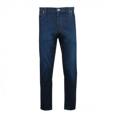 Jean bleu stone: grande taille jusqu'au 70/72FR (56US)