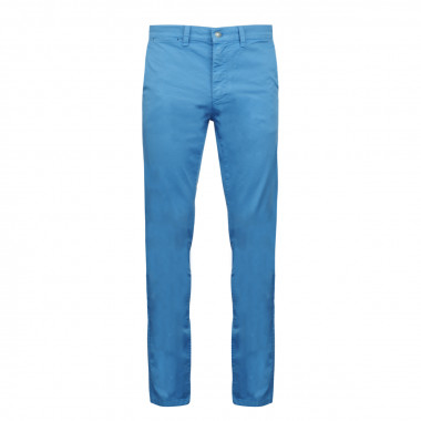 Pantalon chino bleu roi: grande longueur de jambe 38US