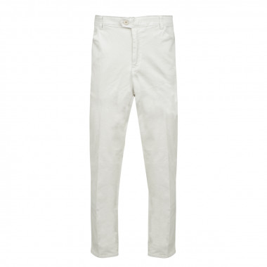 Pantalon chino écru: grande taille jusqu'au 72FR (56US)