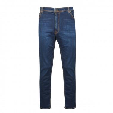 Jean bleu indigo: grande taille jusqu'au 62FR (48US)
