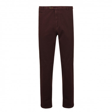 Pantalon chino prune: grande taille jusqu'au 66FR (52US)