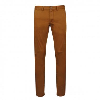 Pantalon chino peau de pêche cognac: grande longueur de jambe 38US
