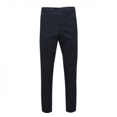 Pantalon Chino confort stretch bleu marine: grande taille jusqu'au 72FR (56US)