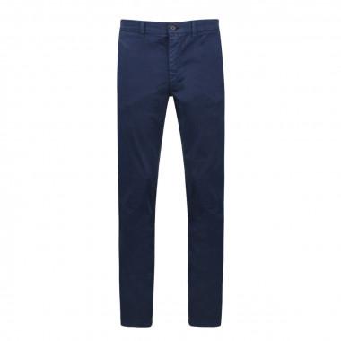 Pantalon chino bleu marine: grande longueur de jambe 38US