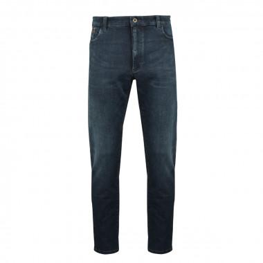 Jean bleu foncé stretch:: grande longueur de jambe 38US