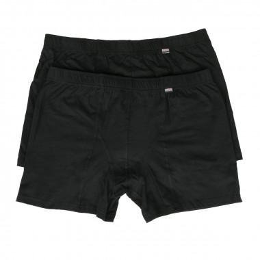Pack de 2 boxers noir: grande taille du 3XL jusqu'au 7XL