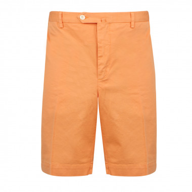 Bermuda délavé orange: grande taille jusqu'au 60/62FR (48US)