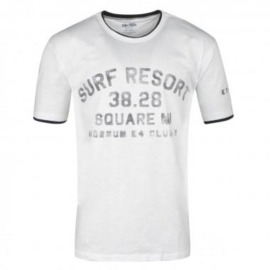 Tee-Shirt imprimé blanc : grande taille du 2XL au 6XL