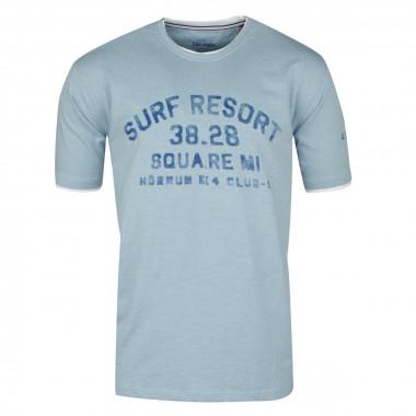 Tee-Shirt imprimé ciel : grande taille du 2XL au 8XL