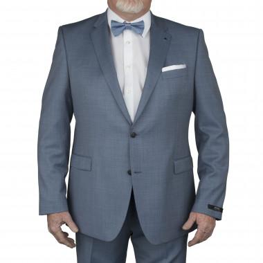 Veste de costume Reda bleu clair: grande taille du 58 au 64