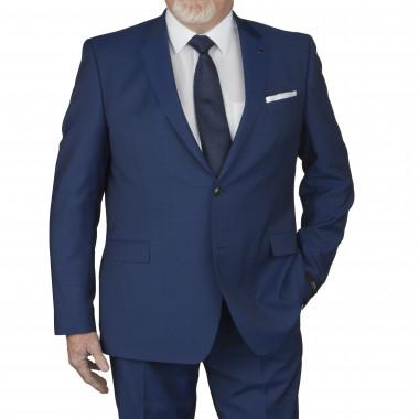 Veste de costume Marzotto marine: grande taille du 58 au 64