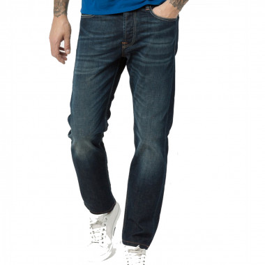 Jean bleu brut: grande taille jusqu'au 62FR (48US)