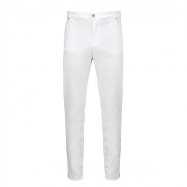 Jean blanc: grande longueur de jambe 38US