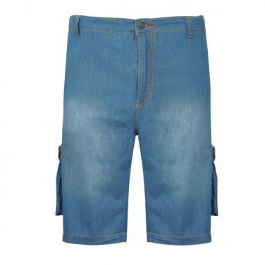Bermuda cargo en jean: grande taille jusqu'au 70FR (55US)