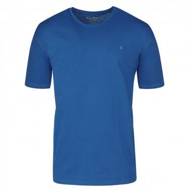 Tee-shirt bleu: grande taille du 3XL au 6XL