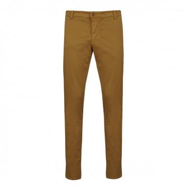 Pantalon chino Madison marron: grande longueur de jambe 38US