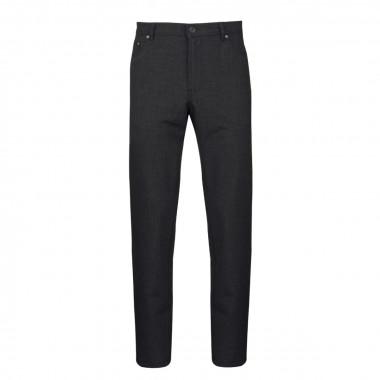 Pantalon micro-fibre anthracite: grande taille jusqu'au 60/62FR (48US)