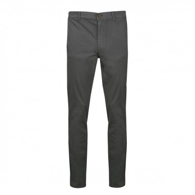 Pantalon chino anthracite: grande longueur de jambe 38US