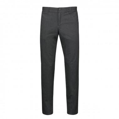 Pantalon chino flanelle gris: grande longueur de jambe 38US