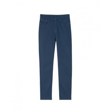 Pantalon 5 poches marine: grande taille jusqu'au 58FR (46US)