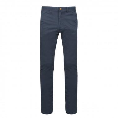 Pantalon chino bleu: grande longueur de jambe 38US