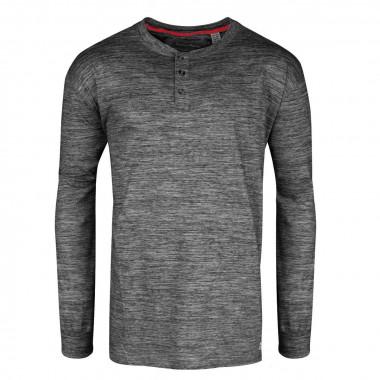 Tee-shirt manches longues noir: grande taille du 3XL au 6XL