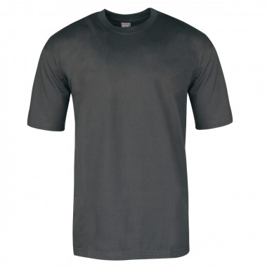 Lots de 2 t-shirts col rond - anthracite