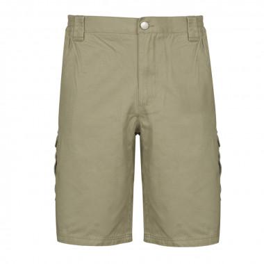 Short beige poches cargo : grande taille jusqu'au 8XL
