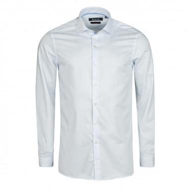 Chemise Non iron à rayures blanc cintrée: manches extra-longues 72cm