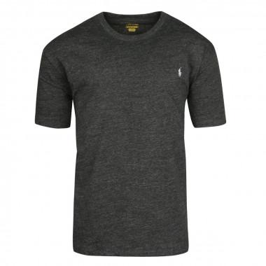 Tee-shirt en jersey noir: grande taille du XL au 5XL