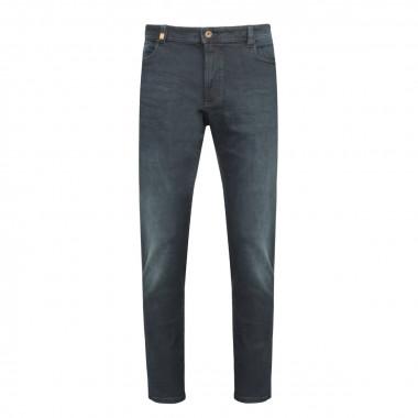 Jean bleu foncé: grande longueur de jambe 38US