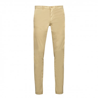 Pantalon chino ocre: grande longueur de jambe 38US