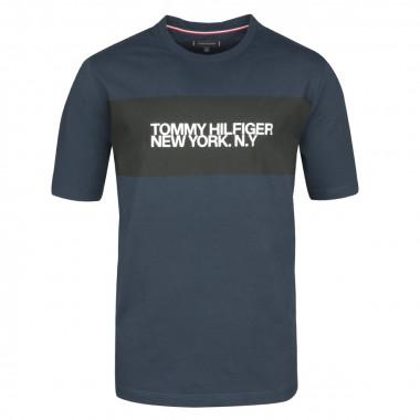 Tee-shirt jersey bleu marine: grande taille du 2XL au 5XL