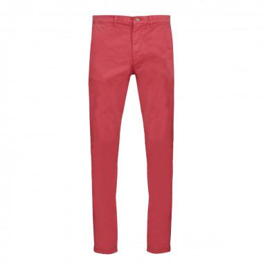 Pantalon chino rose: grande longueur de jambe 38US